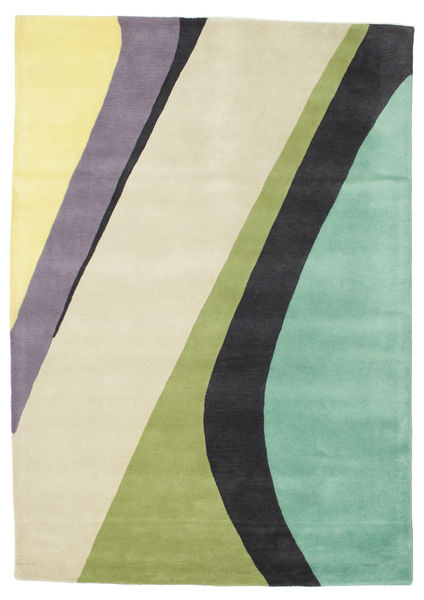 Dynamic Handtufted - Mint Teppich  160X230 Moderner Beige/Dunkelgrau (Wolle, Indien)
