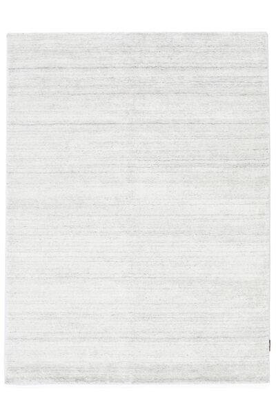 Bambus Seide Loom - Hell Natural Teppich  200X300 Moderner Beige/Weiß/Creme ( Indien)