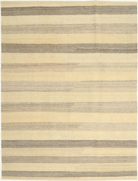 Kelim Modern Teppich  172X240 Echter Moderner Handgewebter Gelb/Hellgrau/Beige (Wolle, Persien/Iran)