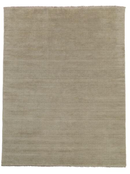 Handloom Fringes - Greige Teppich  200X250 Moderner Hellgrau (Wolle, Indien)