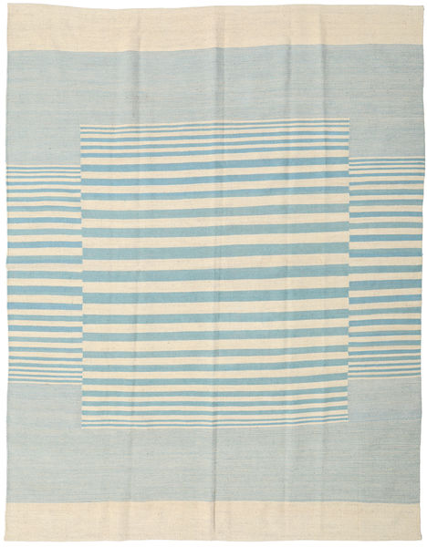 Kelim Modern Teppich  181X230 Echter Moderner Handgeknüpfter Beige/Türkisblau (Wolle, Indien)