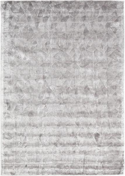 Crystal - Sanftes Grau Teppich  240X340 Moderner Hellgrau ( Indien)