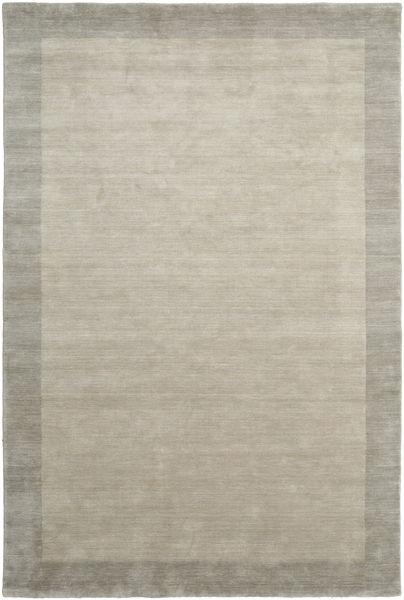 Handloom Frame - Greige Teppich  200X300 Moderner Hellgrau (Wolle, Indien)