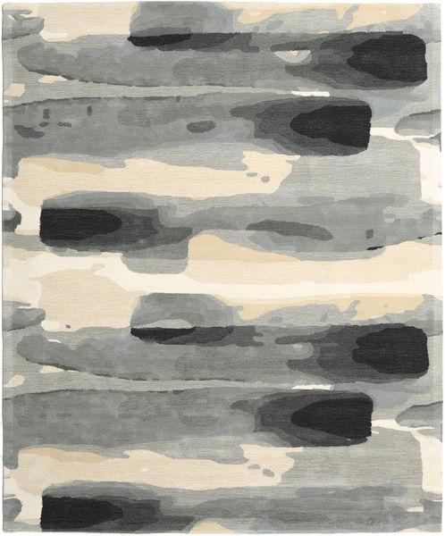 Ink - Grau Teppich  250X300 Moderner Hellgrau/Beige Großer (Wolle, Indien)