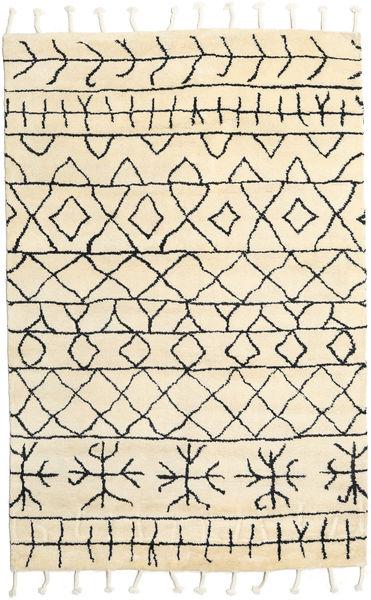 Moss Berber - Natural Teppich  180X275 Echter Moderner Handgeknüpfter Beige (Wolle, Indien)