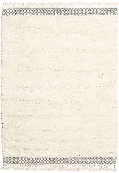 Dixon Teppich  170X240 Echter Moderner Handgewebter Beige/Weiß/Creme (Wolle, Indien)