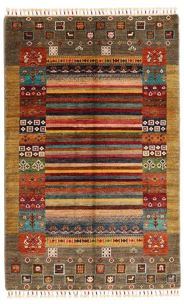 Shabargan Teppich  119X186 Echter Moderner Handgeknüpfter Braun/Beige (Wolle, Afghanistan)