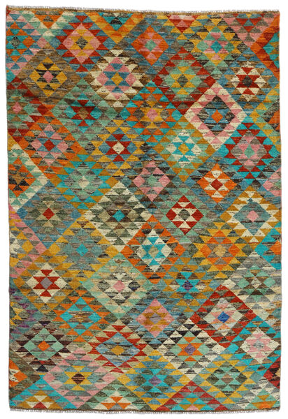Moroccan Berber - Afghanistan Teppich  170X250 Echter Moderner Handgeknüpfter Braun/Hellbraun (Wolle, Afghanistan)