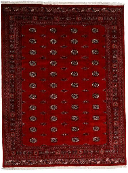 Pakistan Buchara 3Ply Teppich  247X319 Echter Orientalischer Handgeknüpfter Dunkelrot/Rot/Dunkelbraun (Wolle, Pakistan)