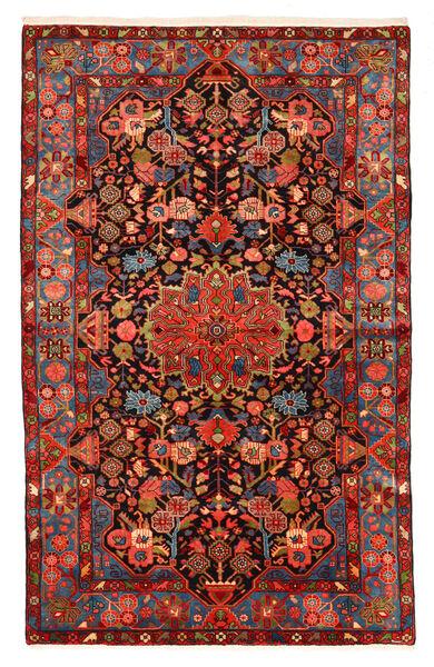 Nahavand Old Teppich  150X240 Echter Orientalischer Handgeknüpfter Dunkelrot/Schwartz (Wolle, Persien/Iran)
