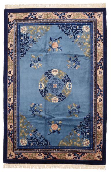China In Antikem Stil Teppich  183X274 Echter Orientalischer Handgeknüpfter Dunkellila/Blau (Wolle, China)