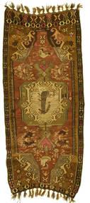 Kelim Kars Teppich  160X400 Echter Orientalischer Handgewebter Läufer (Wolle, Türkei)