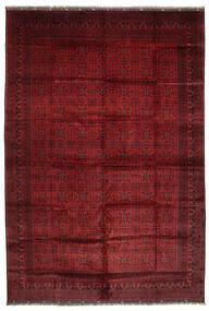 Afghan Khal Mohammadi Teppich 406X582 Echter Orientalischer Handgeknüpfter Dunkelrot Großer (Wolle, Afghanistan)