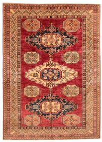 Kazak Teppich  168X240 Echter Orientalischer Handgeknüpfter (Wolle, Pakistan)