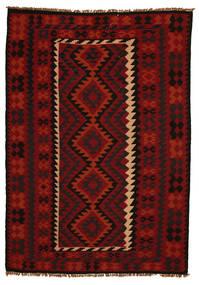 Kelim Maimana Teppich  190X285 Echter Orientalischer Handgewebter (Wolle, Afghanistan)