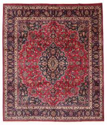 Maschad Signatur: Maebodi Teppich  303X360 Echter Orientalischer Handgeknüpfter Großer (Wolle, Persien/Iran)