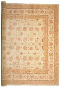 Ziegler Teppich 575X842 Echter Orientalischer Handgeknüpfter Gelb/Beige Großer (Wolle, Pakistan)