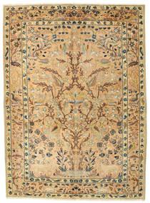 Najafabad Patina Figurativ Teppich  175X240 Echter Orientalischer Handgeknüpfter (Wolle, Persien/Iran)