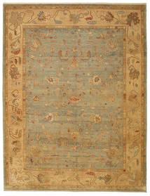 Usak Teppich  279X366 Echter Orientalischer Handgeknüpfter Großer (Wolle, Türkei)