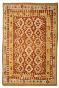Kelim Afghan Old Style Teppich  197X293 Echter Orientalischer Handgewebter (Wolle, Afghanistan)