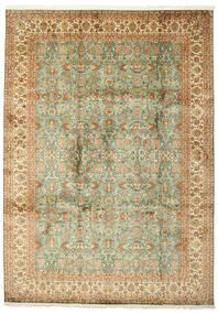 Kaschmir Reine Seide Teppich  223X313 Echter Orientalischer Handgeknüpfter (Seide, Indien)