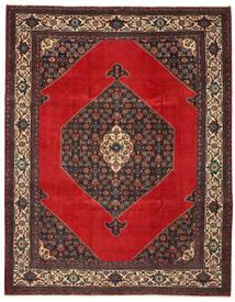 Hamadan Patina Teppich 271X348 Echter Orientalischer Handgeknüpfter Dunkelbraun/Rost/Rot Großer (Wolle, Persien/Iran)