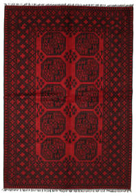 Afghan Teppich  163X236 Echter Orientalischer Handgeknüpfter (Wolle, Afghanistan)