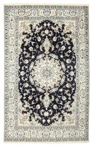 Nain Teppich  190X305 Echter Orientalischer Handgeknüpfter (Wolle/Seide, Persien/Iran)