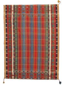 Kelim Fars Teppich  179X240 Echter Orientalischer Handgewebter (Wolle, Persien/Iran)