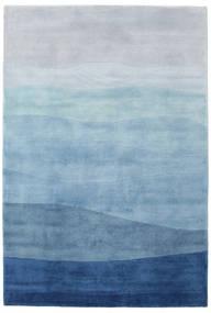 Feeling - Blau Teppich  200X300 Echter Moderner Handgeknüpfter (Wolle, Indien)