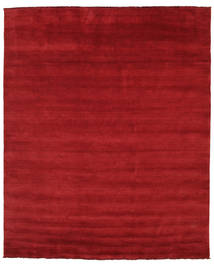 Handloom Fringes - Dunkelrot Teppich  250X300 Moderner Rot Großer (Wolle, Indien)