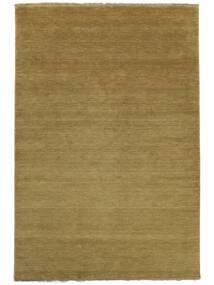 Handloom Fringes - Olivegrün Teppich  250X350 Moderner Olivgrün Großer (Wolle, Indien)