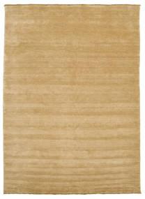 Handloom Fringes - Beige Teppich  250X350 Moderner Dunkel Beige/Hellbraun Großer (Wolle, Indien)