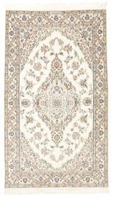 Nain 6La Habibian Teppich  103X177 Echter Orientalischer Handgeknüpfter Beige/Hellgrau (Wolle/Seide, Persien/Iran)