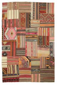 Kelim Patchwork Teppich  179X275 Echter Moderner Handgewebter (Wolle, Türkei)