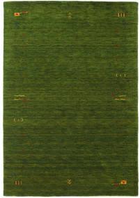 Gabbeh Loom Frame - Grün Teppich  160X230 Moderner Dunkelgrün (Wolle, Indien)