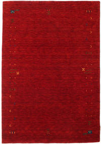 Gabbeh Loom Frame - Rot Teppich 140X200 Moderner Dunkelrot/Rot (Wolle, Indien)