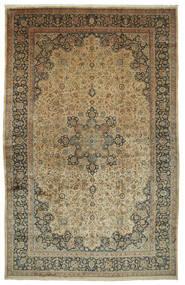 Maschad Astan Ghods Teppich 508X789 Echter Orientalischer Handgeknüpfter Hellbraun/Dunkelgrau Großer (Wolle, Persien/Iran)