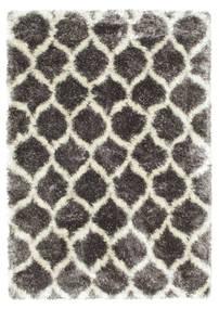 Berber Style Shaggy Regal - Grau/Beige Teppich  160X230 Moderner ( Türkei)