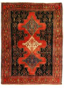 Senneh Teppich  126X175 Echter Orientalischer Handgeknüpfter (Wolle, Persien/Iran)