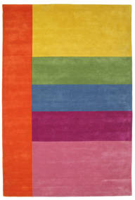 Colors By Meja Handtufted Teppich  200X300 Moderner Rosa/Gelb (Wolle, Indien)