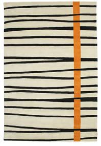 Gummi Twist Handtufted - Orange Teppich  200X300 Moderner Dunkel Beige/Schwartz (Wolle, Indien)