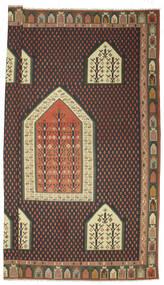 Kelim Bulgarian Teppich 540X727 Echter Orientalischer Handgewebter Dunkelgrau/Dunkelrot Großer (Wolle, Bulgarien)