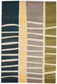Abstract Bambus Teppich  160X230 Moderner Dunkelblau/Beige ( Türkei)