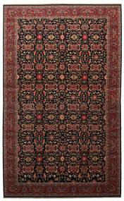 Malayer Teppich  505X817 Echter Orientalischer Handgeknüpfter Dunkelbraun/Dunkelrot Großer (Wolle, Persien/Iran)