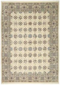 Ilam Sherkat Farsh Seide Teppich  250X350 Echter Orientalischer Handgeknüpfter Hellgrau/Beige Großer (Wolle/Seide, Persien/Iran)