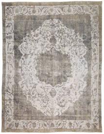 Colored Vintage Teppich  273X366 Echter Moderner Handgeknüpfter Hellgrau/Dunkelgrau Großer (Wolle, Persien/Iran)