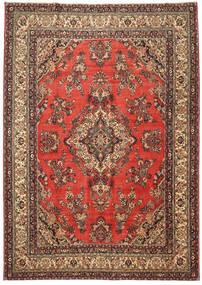 Hamadan Patina Teppich  282X400 Echter Orientalischer Handgeknüpfter Rost/Rot/Dunkelbraun Großer (Wolle, Persien/Iran)