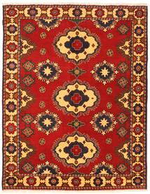 Kazak Teppich  180X227 Echter Orientalischer Handgeknüpfter Rost/Rot/Dunkelbraun (Wolle, Pakistan)