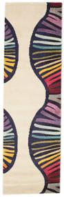 Vases Teppich  80X250 Moderner Läufer Beige/Dunkellila ( Türkei)